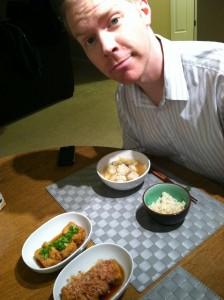 今日チャイニーズマーケットで購入した厚揚げ豆腐!