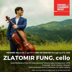 Friends of Chamber Music Concert Promotion sample